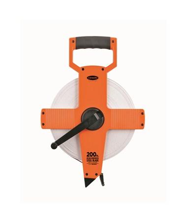 Keson Nylon-Reinforced Steel Blade 165-Foot Measuring Tape KESNR18165