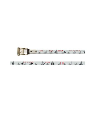 Keson Nylon-Reinforced Steel Blade 200-Foot Measuring Tape KESNR18200