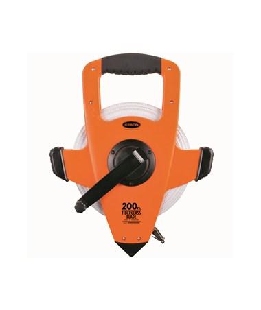 Keson Open-Type Reel,Ultra-Glass Blade OTRS Measuring Tape 200-Foot KESONOTRS10200H