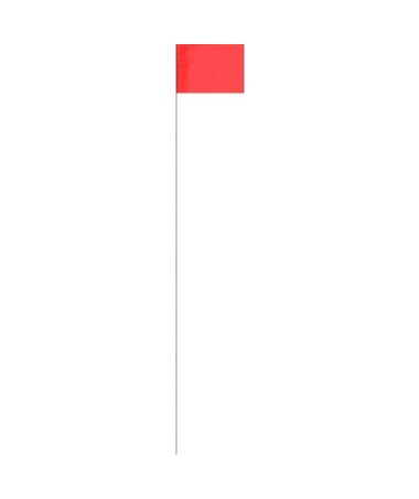 Keson Surveyor Glo-Red Stake Flag