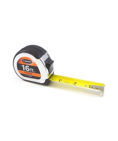 Keson 16 Feet Chrome Short Tape; Feet, 1/10, 1/100 with 1-inch Blade PG1016