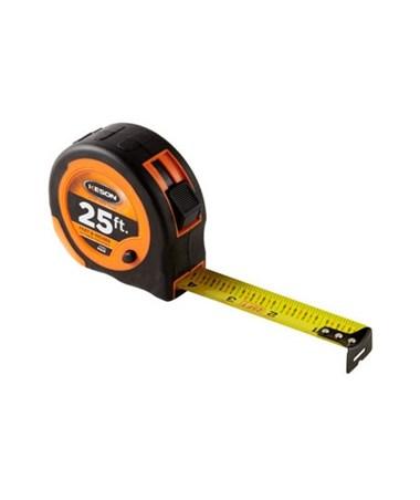 Keson 25 Feet Economy Short Tape, Feet , 1/10, 1/100 PG2510