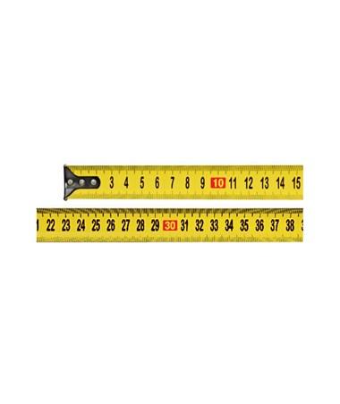 Keson 25 Feet Economy Short Tape, Meter, Centimeter, Millimeter PG7.5M