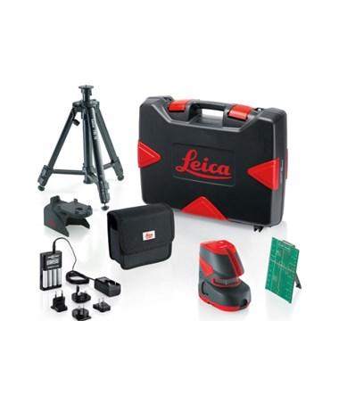 Leica Lino L2G+ Cross Line Laser Green Beam Pro Kit 817857