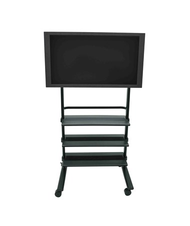 Luxor Universal LCD TV Stand with Three Shelves WFP100-B