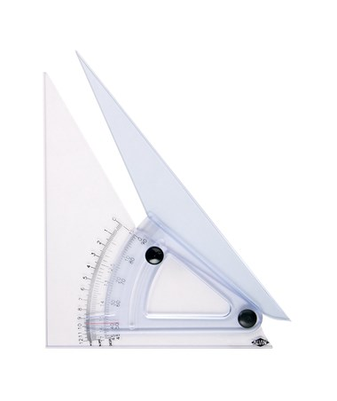 Computing Trig-scale Adjustable Triangle With Inking Edges LX701K