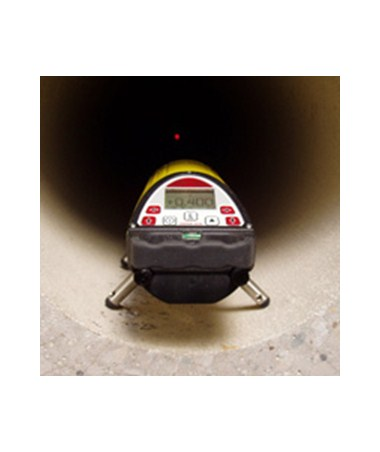 Leica Piper 200 Pipe Laser in pipe