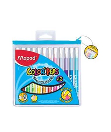 MAPED® Color'Peps Washable Markers M84666