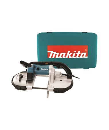 "Makita 2107FK 4-3/4"" Portable Band Saw with L.E.D. Light w/Case MAK2107FK"