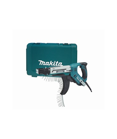 Makita 6844 Autofeed Screwdriver 3,000 RPM, Reversible with Case MAK6844