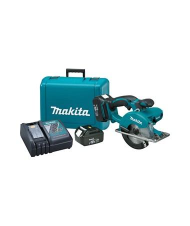 "Makita BCS550 18V LXT Lithium-Ion Cordless 5-3/8"" Metal Cutting Saw MAKBCS550-"