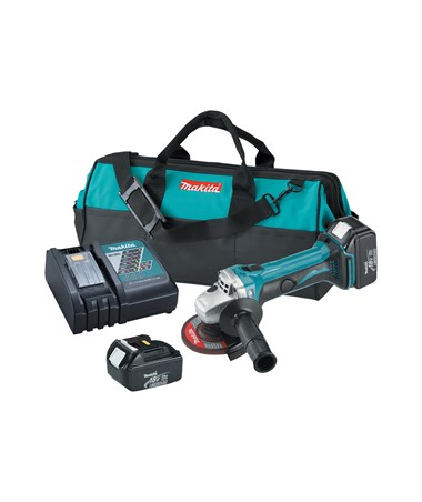 "Makita 18V LXT Lithium-Ion Cordless 4-1/2"" Cut-Off/Angle Grinder MAKBGA452-"