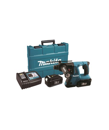 "Makita BHR261 36V LXT Lithium-Ion SDS-Plus Cordless 1"" Rotary Hammer Kit MAKBHR261"