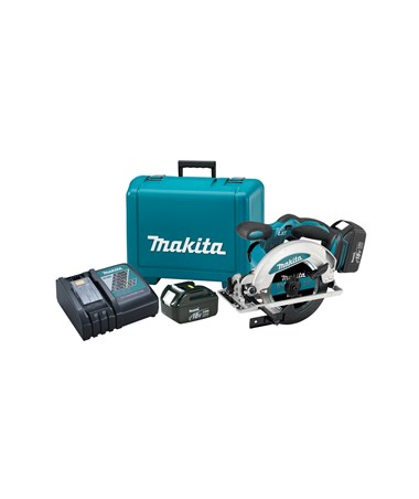 "Makita BSS610 18V LXT Lithium-Ion Cordless 6-1/2"" Circular Saw MAKBSS610-"