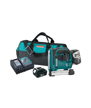 "Makita 18V LXT Lithium-Ion Cordless 3/8"" Crown Stapler MAKBST221-"