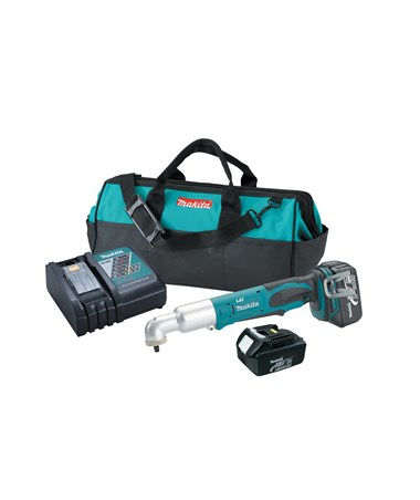 "Makita BTL063 18V LXT Lithium-Ion Cordless 3/8"" Angle Impact Wrench Kit MAKBTL063"