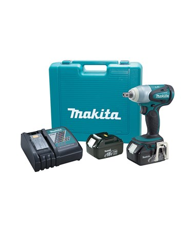 "Makita BTW251 18V LXT Lithium-Ion Cordless 1/2"" Impact Wrench Kit MAKBTW251"