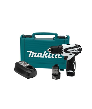 "Makita FD02W 12V Max Lithium-Ion Cordless 3/8"" Driver-Drill Kit MAKFD02W"