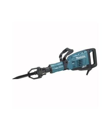"Makita HM1317CB 42 lb. AVT Breaker Hammer with Rolling Tool Case; 1-1/8"" Hex Shank Bits MAKHM1317CB"