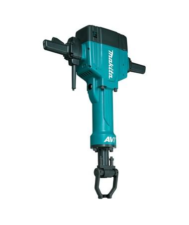 "Makita 70 lb. AVT Breaker Hammer; 1-1/8"" Hex Shank Bits MAKHM1810-"