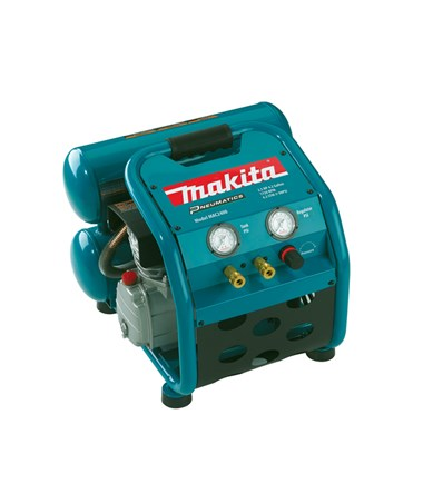 Makita MAC2400 2.5 HP Air Compressor Twin Stack) MAKMAC2400