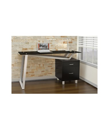 Mayline SOHO V-Desk MAY1001VG-