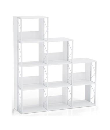 Mayline SOHO Multi Height Bookcase, White MAY1003
