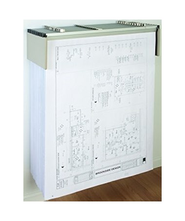 Mayline Hanging File Wall Rack Only MAY9319