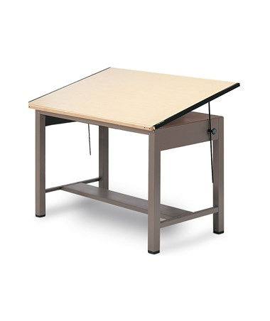 Mayline Ranger Steel Four-Post Drafting Table 7732