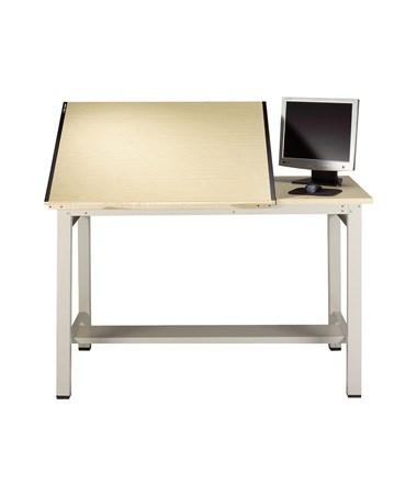 Mayline Ranger Steel 4-Post Split Top Drafting Table MAY7772-