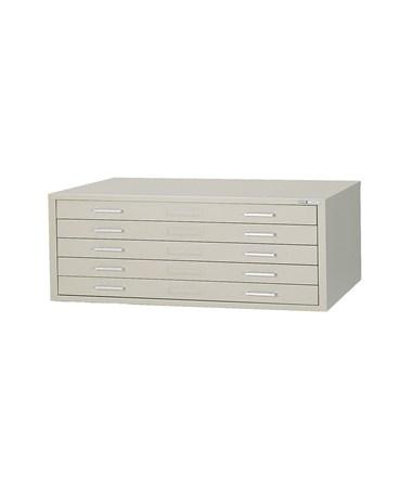 Mayline C-File 5-Drawer Steel Flat File MAY7867C-