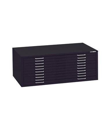 Mayline C-File 10-Drawer Steel Flat File MAY78680CB