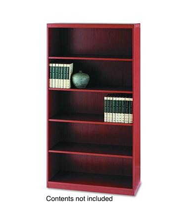 Aberdeen Series 5 Shelf Quarter Round (1 fixed shelf) Tf Laminate MAYAB5S36LCR