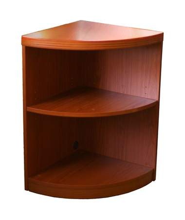 Mayline Aberdeen Series Two-Shelf Quarter Round Bookcase MAYABQ2