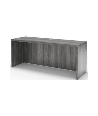 Mayline Aberdeen Laminate Series 60-Inch Credenza MAYACD6024 Gray Steel