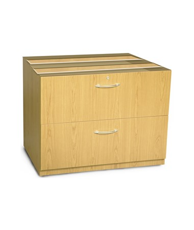 Mayline Aberdeen Series 36-Inch Credenza Lateral File MAYACLF36 Maple