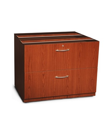 "Aberdeen Series 36"" Credenza Lateral File Cherry Tf Laminate MAYACLF36LCR"