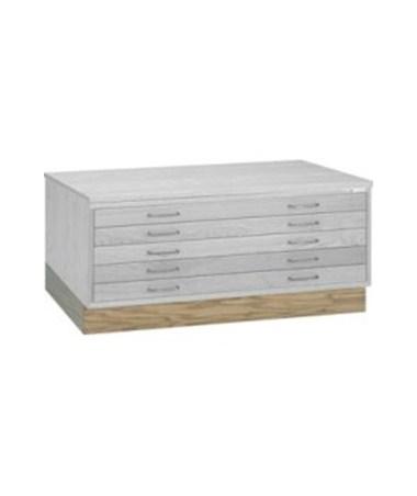 Mayline Flush Base for 36 x 48 Wood Plan File 7719W