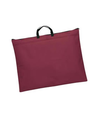 STUDENT SERIES SOFT SIDED PORTFOLIO  BURGUNDY 21X18 N2118o-BU