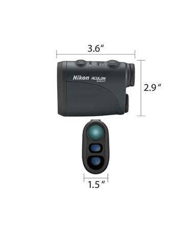 Nikon Aculon Laser Range Finder measures 8397