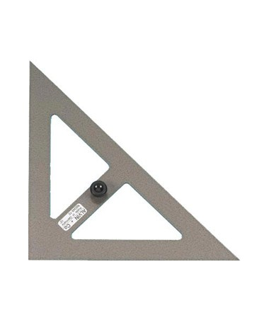 ALVIN Hardened-steel Triangles 45/90DEG 10i NS345-100
