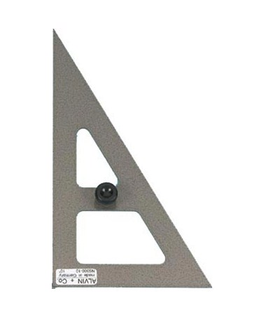ALVIN Hardened-steel Triangles 30/60DEG 10 NS360-100