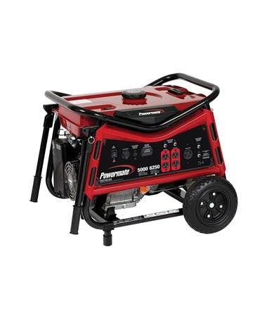 Powermate Vx Power 5000 Watt Portable Generator CSA/CARB