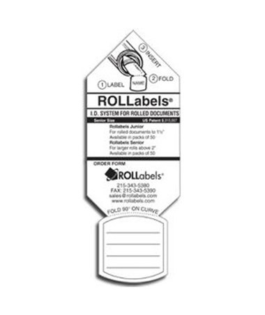 ROLLabels Sr. (250 Pack) ROLSR