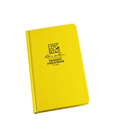 "All Weather Writing  Standard Bound Transit  Book (4¾"" x 7½"") Rit300F"