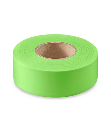 SMI-Carr Fluorescent Green Flagging Tape, 150 Feet SACFTFG