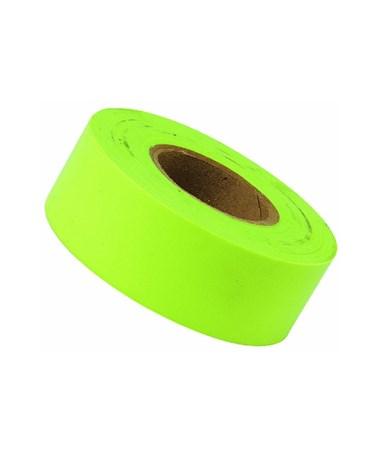 SMI-Carr Fluorescent Lime Flagging Tape, 150 Feet SACFTFL