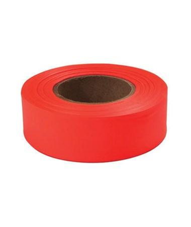 SMI-Carr Fluorescent Red Flagging Tape, 150 Feet SACFTFR