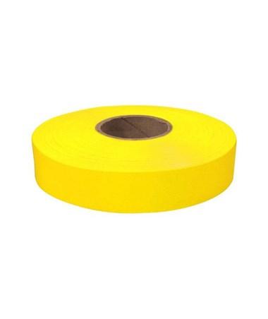 SMI-Carr Fluorescent Yellow Flagging Tape, 150 Feet SACFTFY