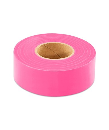 SMI-Carr Pink Flagging Tape, 300 Feet SACFTSP